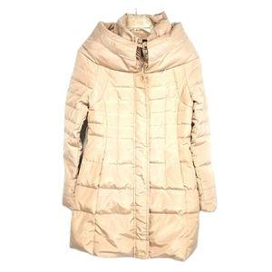 La Chapelle Long Puffer jacket coat light pink
